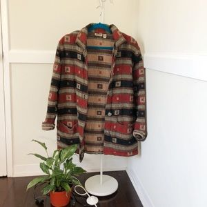 Vintage cotton day coat